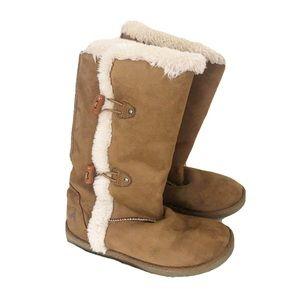 Airwalk Furry Winter Boots Size Girls 3